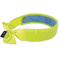 CHILL-ITS 6700CT Cooling Bandana, One Size, Lime