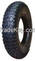 HI-RUN CT1008 Wheelbarrow Tire 4.80/4.00-8 4 Ply Stud