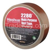 NASHUA  2280 Duct Tape, 48mm x 55m, 9 mil, Brown