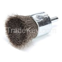 WEILER 10021 Crimped Wire End Brush Stainless Steel