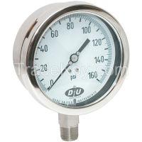 DURO 42070633CERT D7959 Pressure Gauge 0 to 160 psi 4-1/2In