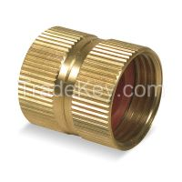WESTWARD 1P724 Hose To Hose Connector Dbl Female 3/4
