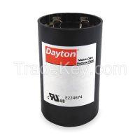 DAYTON    2MDR4   Motor Start Capacitor, 161-193 MFD, Round