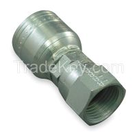 EATON AEROQUIP 1AA4FJ4 Fitting Straight 1/4 In Hose 7/16-20 JIC