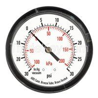 APPROVED VENDOR   4FMC7    D1339 Pressure Gauge Test 2 In