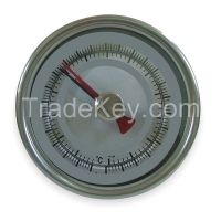 DWYER INSTRUMENTS  BTM34010D    Bimetal Thermom 3 In Dial 0 to 200F