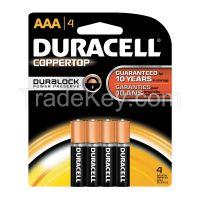 DURACELL MN2400B4Z Battery Alkaline AAA PK 4