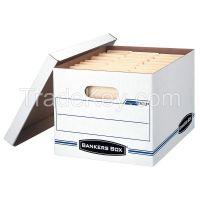 BANKERS BOX     00703    Banker Box, Ltr/Lgl, 450Lb, PK12