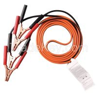 WESTWARD 5RXG6 Booster Cable LD 10 AWG 12 Ft Std Jaw