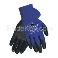 MEMPHIS GLOVE N9696L D1644 Coated Gloves L Black/Blue PR