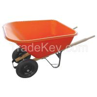 WESTWARD   10G165      Wheelbarrow Poly 8 cu Ft. Pneumatic