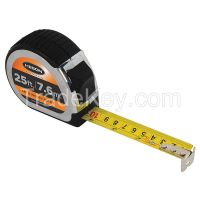 KESON   PG18M25   Tape Measure 1Inx25 ft/7.5m Chrome/Black KESON PG18M25