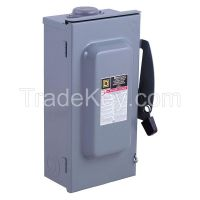 SQUARE D DU321RB Safety Switch, 30A, 240VAC, 3PH