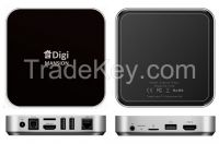 DigiMansion DM-V6 TV Box Quad core Ram 4G Memory 32G Ultra HD 4k2k RK3288 1.8 GHz Cortex A17 Android 4.4.2 HDMI In/Out Dual Band WIFI 2.4GHz/5.0GHz Bluetooth 4.0