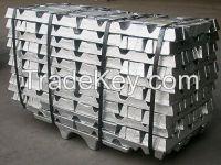 high quality  99.9% Aluminium Ingot