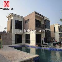 High density reinforced outdoor decorative deck cement board