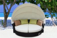 GW3156 Set Outdoor Furniture Daybed Chaise Lounge