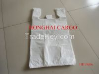 Plastic vest bags or T-shirt shopping bags