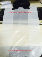 hdpe plastic t-shirt bag on roll