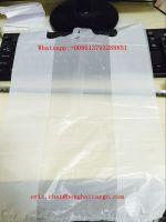 hot sale custom printed hdpe t-shirt bag plastic bag