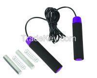 high quality adult bearing heavey jump rope wireless /chper jump rope
