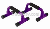 H shape chper plastic push up bar arms muscle exercise