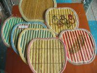 Bamboo Cup Mat