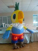 Inflatable 3 meter Parrot for weddings, birthdays, advertising