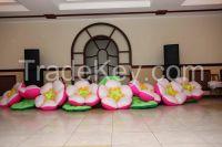 inflatable flowers Apple blossom 5/7/10 m. for weddings, events, festivals, birthdays