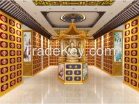 Environmental Aluminium Alloy Columbarium