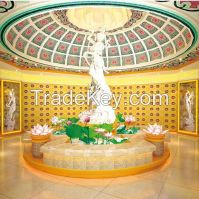 columbarium with two niches