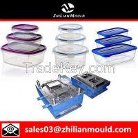 Plastic thin wall food box mould by China