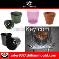 Plastic flowe pot mould by China