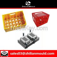 Plastic bottle crate mould by China