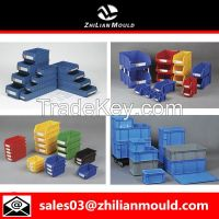 Plastic container box mould by China