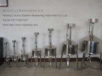standard stainless metal measuring tank,can for oil or fuel