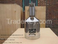 BJL-standard stainless metal measuring tank, can for oil or fuel