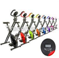 Mini folding magnetic exercise x bike