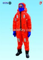 Factory produce immersion suits with EC and CCS