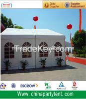 6m span width aluminum outdoor trade show tent