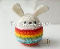 Small Easter eggs, 100% handmade, 7 x 7 x 12.5cm, acrylic, EN71