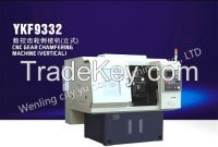 CNC gear chamfering machine