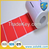 Tamper proof labels, void security seal, total transfer adhesive film