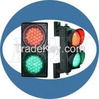 100mm stop go 2 aspects traffic light dual lens