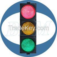200mm clear lens led traffic light