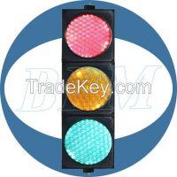 200mm traffic road signal light dual lens