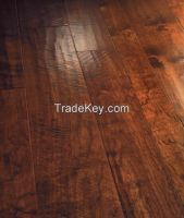 RESERVE COLLECTION - Double Stained and Custom Scraped Random Width Hardwood Flooring