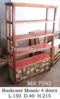 Bookcase, Bookshelf- Boat Furniture - Recycled Furniture - Special Design
