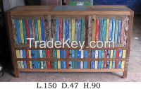 Living Room Cabinet - Boat Furniture -Recycled Furniture
