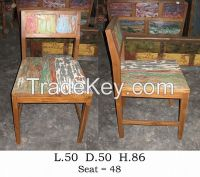 Chairs-Dining Room, Living Room  - Boat Furniture -Recycled Furniture